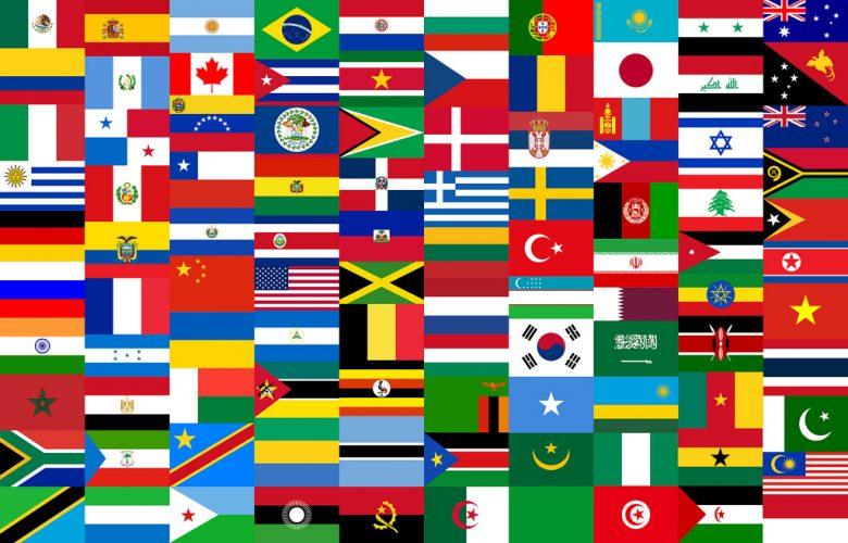 imagen con banderas de distintos paises
